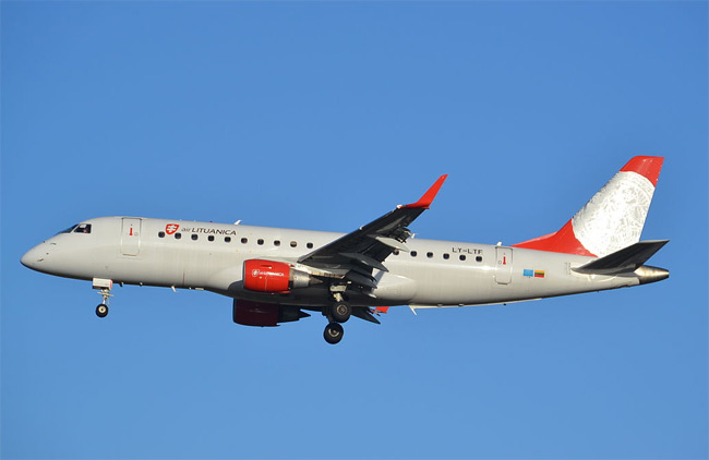 Air Lituanica - Embraer 175