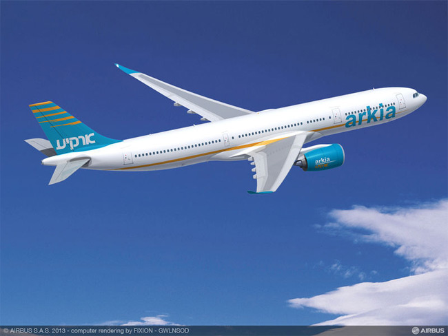 Arkia Israeli Airlines - Airbus A330-900neo