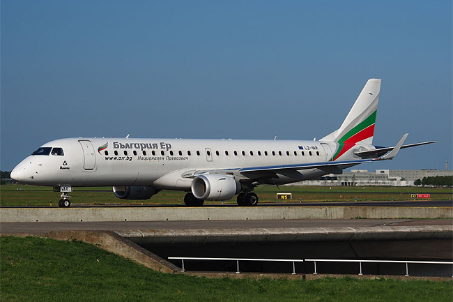 Bulgaria Air - Embraer 190