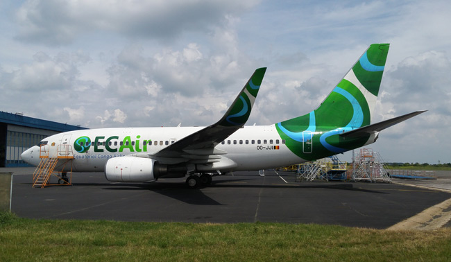 ECAir - Equatorial Congo Airlines - Boeing 737-700