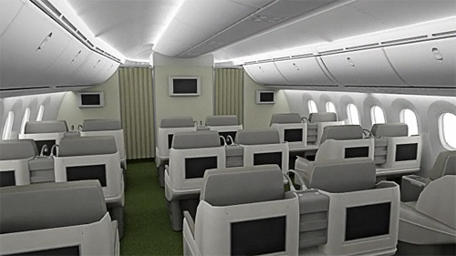 Ethiopian Airlines - Boeing 787 - Business Class
