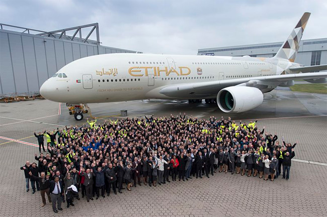 Etihad Airways - Airbus A380