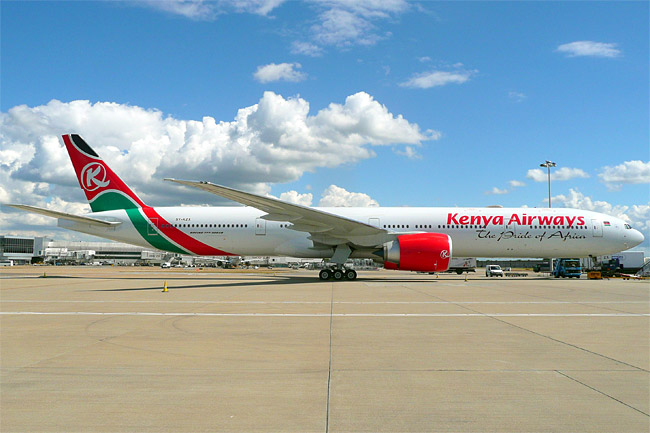 Kenya Airways - Boeing 777-300ER