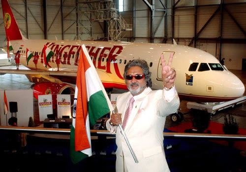 VIJAY MALLYA, Kingfisher Airlines' Billionaire Chairman