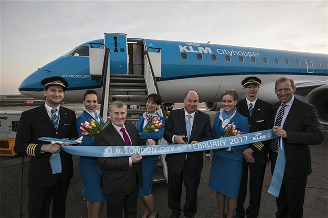 KLM - zahájení letů na London City Airport