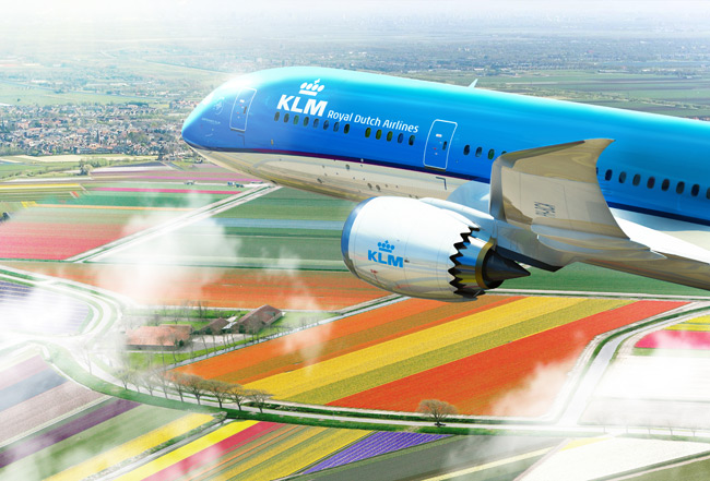 KLM Royal Dutch Airlines - Boeing 787-9