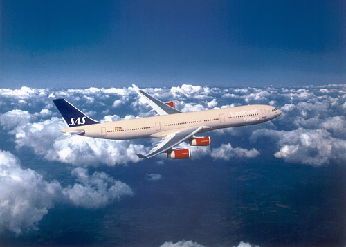 SAS Scandinavian Airlines - Airbus A340