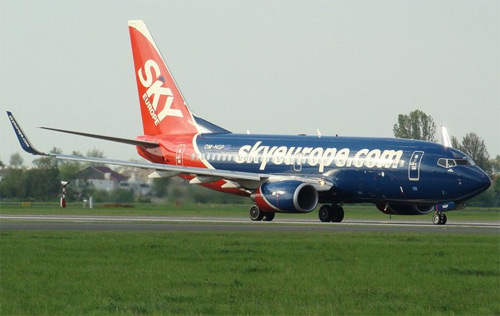Sky Europe Airlines - Boeing 737-700