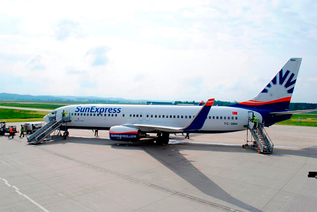 SunExpress - Boeing 737-800 - Memmingen