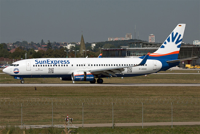 SunExpress Germany - Boeing 737-800