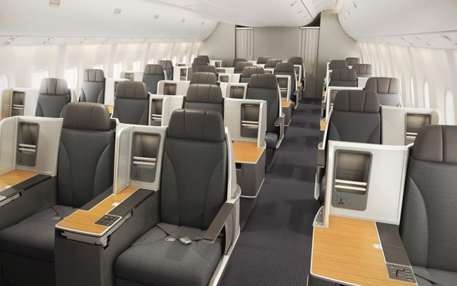 American Airlines - business class