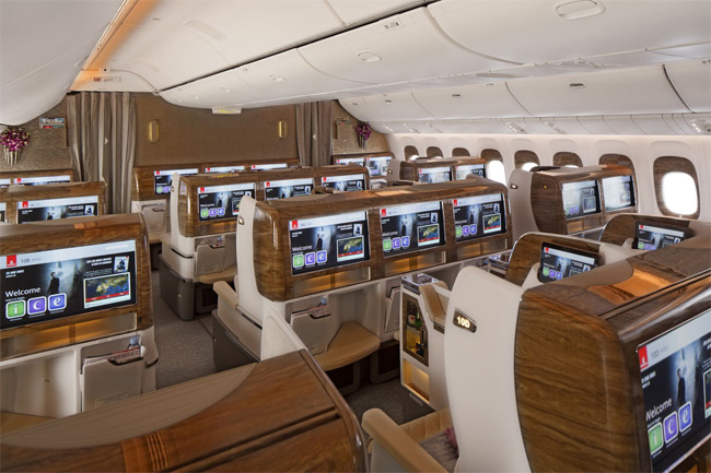 Emirates - Boeing 777- Business Class