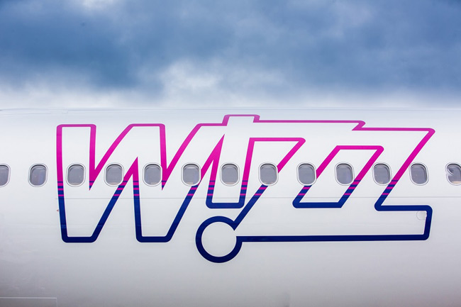 Wizz Air - nápis