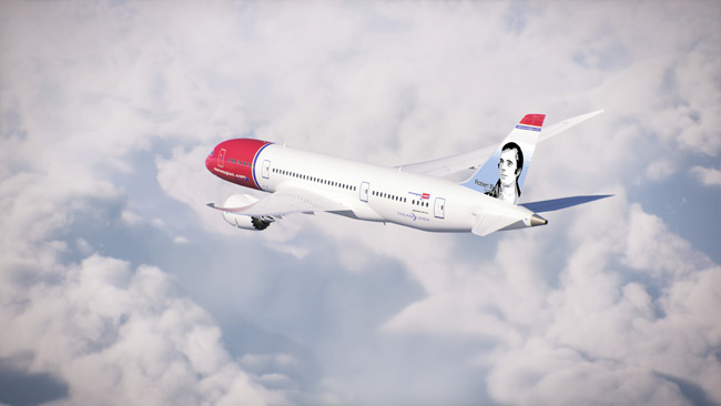 Norwegian - Boeing 787 Dreamliner - Robert Burns