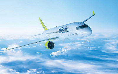 AirBaltic - Airbus A220-300