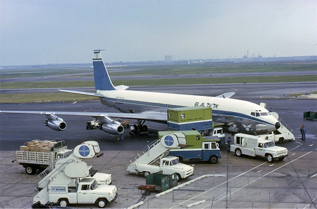El Al - Boeing 707 - New York