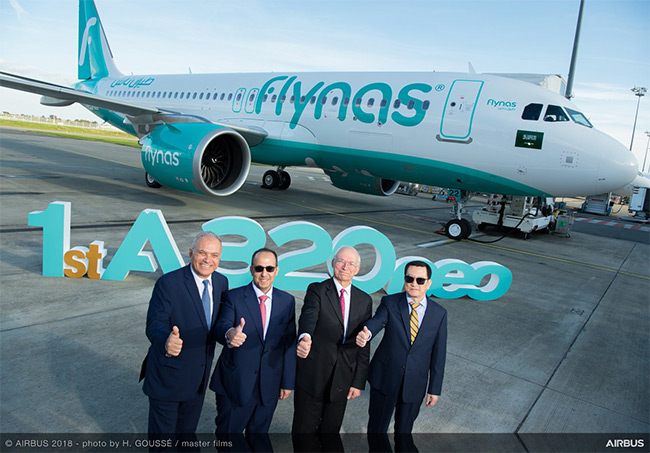 Flynas - Airbus A320neo