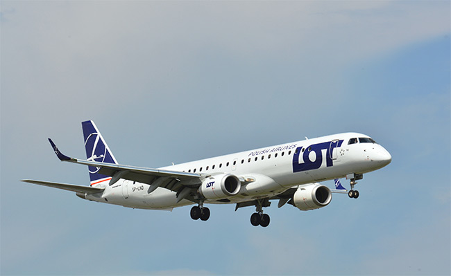LOT - Polish Airlines - Embraer 195