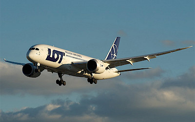 LOT Polish Airlines - Boeing 787-8 Dreamliner