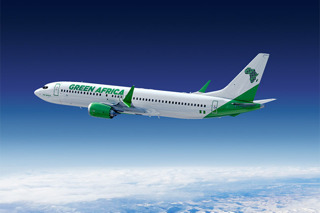 Green Africa Airways - Boeing 737 MAX 8