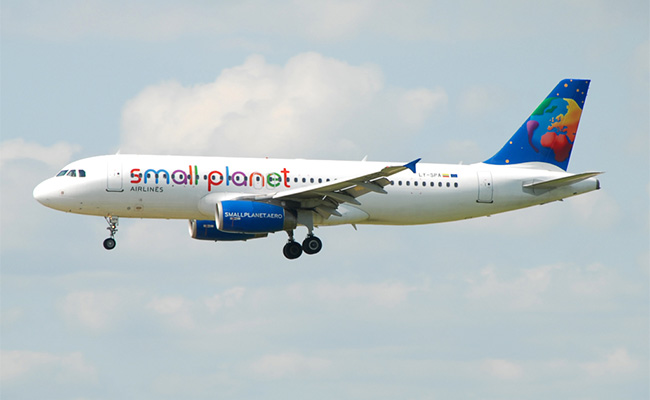 Small Planet Airlines - Airbus A320
