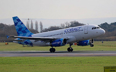Cobalt - Airbus A319 (foto: Aero Pixels/Wikimedia Commons - CC BY 2.0)