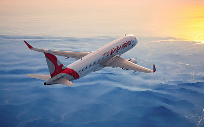 Air Arabia - Airbus A320 (foto: Air Arabia)