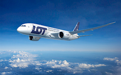 LOT Polish Airlines - Boeing 787 Dreamliner (foto: LOT)