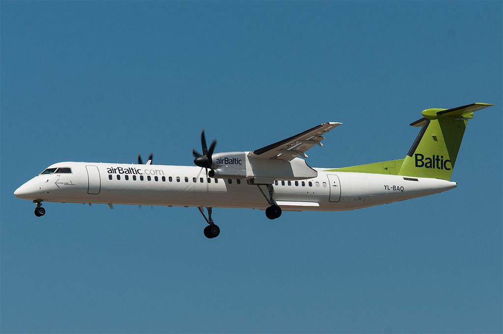airBaltic - Bombardier Q400 (foto: Gerard van der Schaaf/Wikimedia Commons - CC BY 2.0)