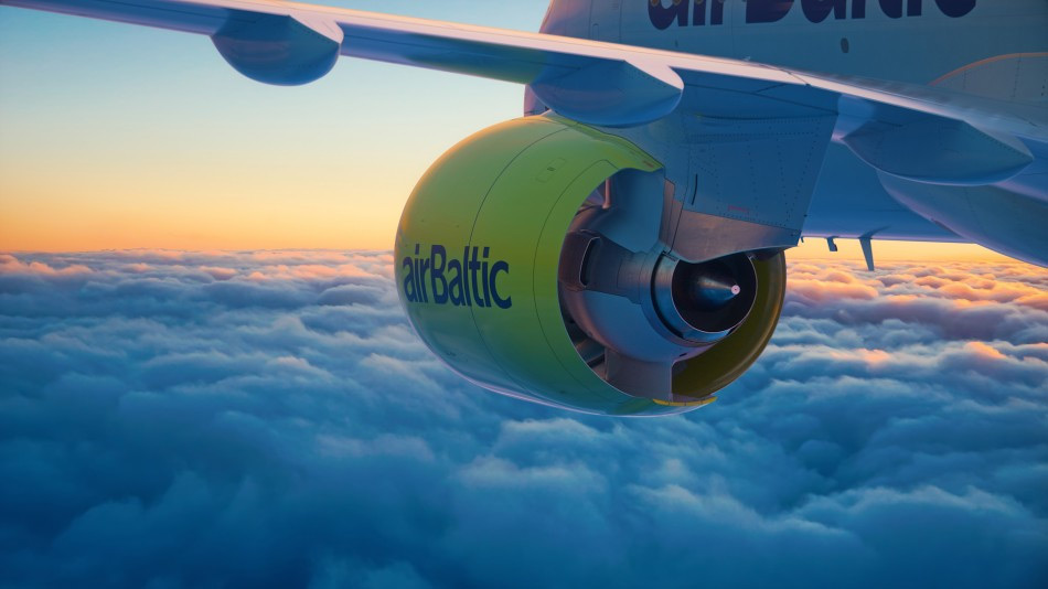 airBaltic - Airbus A220-300 (foto:airBaltic)
