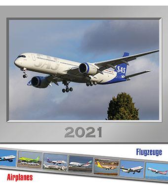Kalendář AIRPLANES 2020