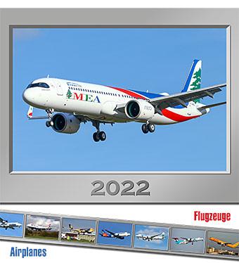 Kalendář AIRPLANES 2022