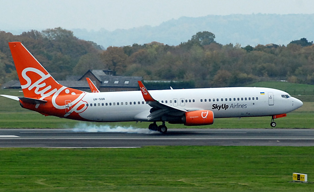 SkyUp Airlines - Boeing 737-800 (foto: Riik@mctr/Flickr - CC BY-SA 2.0)