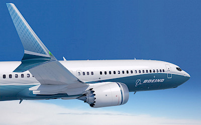 Boeing 737 MAX (foto: Boeing Co.)