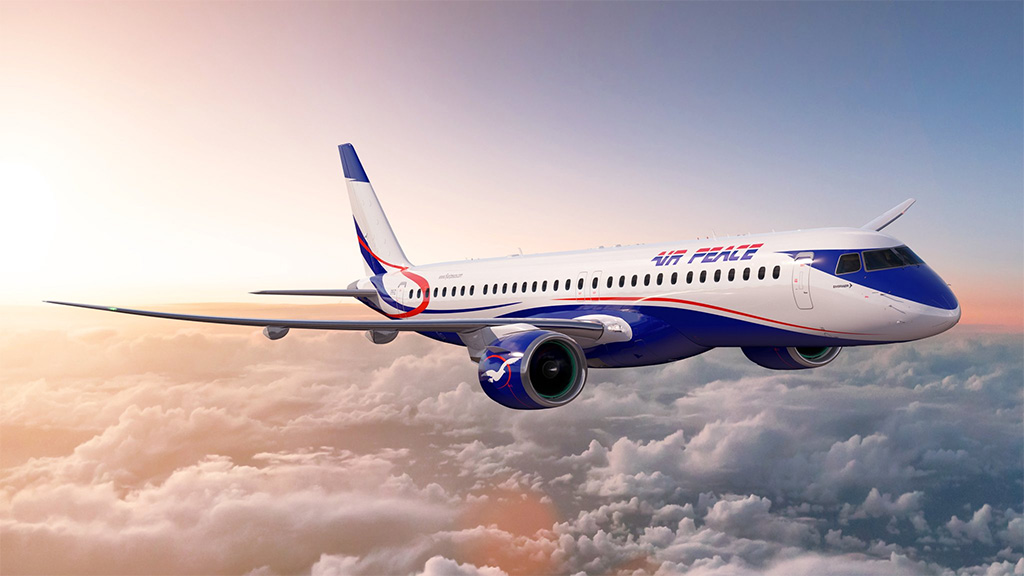 Air Peace - Embraer E195-E2 (foto: Embraer)