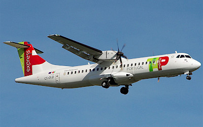 TAP Express - ATR 72-600 (foto: Spotter LEVT/Wikimedia Commons - CC BY-SA 4.0)