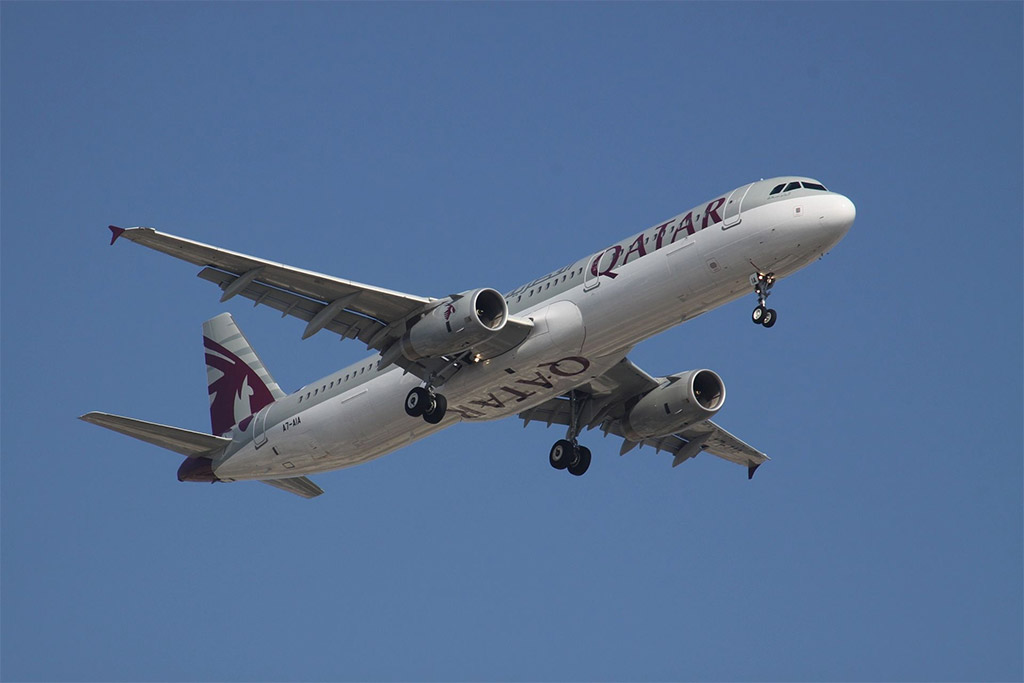Qatar Airways - Airbus A321 (foto: aeroprints.com/Wikimedia - CC BY-SA 3.0)