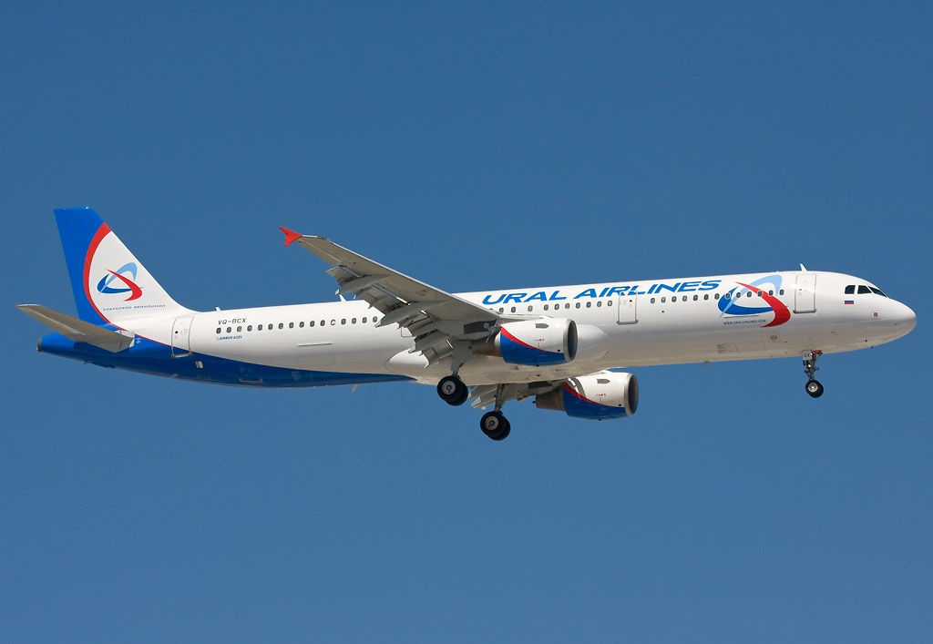 Ural Airlines - Airbus A321 (foto: Ole Simon/Wikimedia Commons - GFDL 1.2)