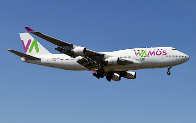 Wamos Air - Boeing 747-400 (foto: Anna Zvereva/Wikimedia Commons - CC BY-SA 2.0)