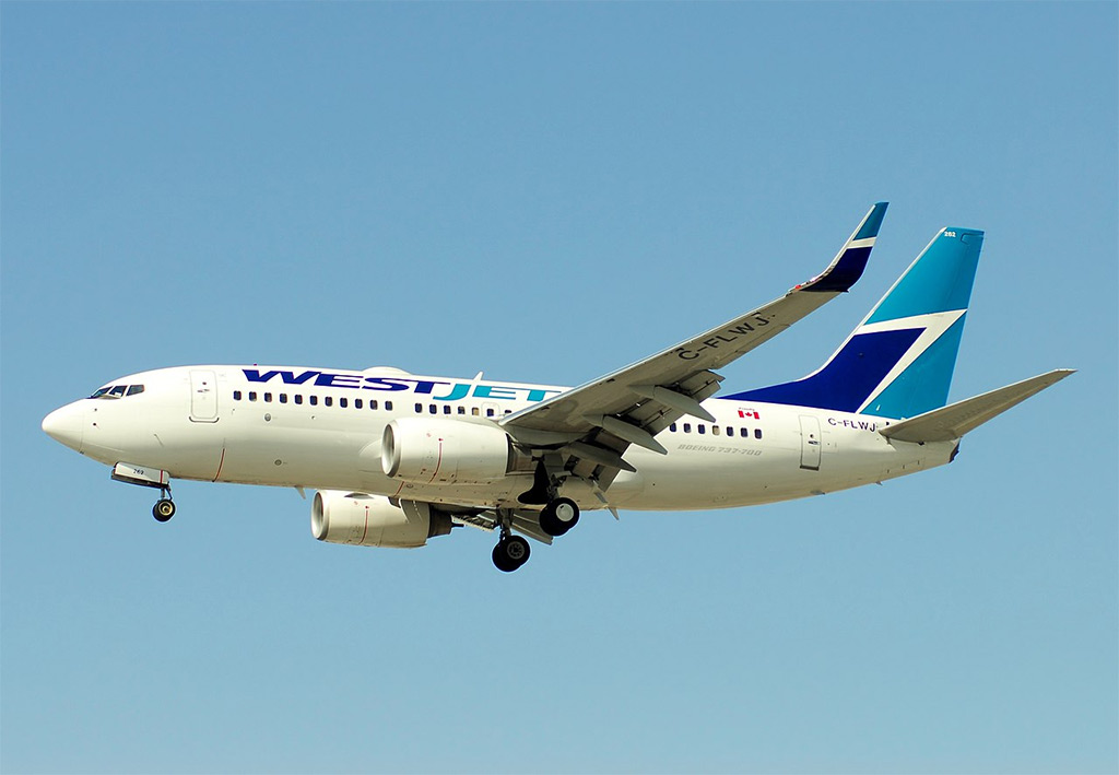 WestJet - Boeing 737-700 (foto: Lord of the Wings/Wikimedia Commons - CC BY-SA 2.0)