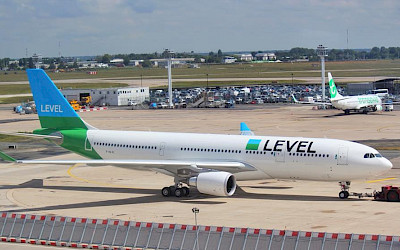 Level - Airbus A330-200 (foto: Rafalflash/Wikimedia Commons - CC BY-SA 4.0)
