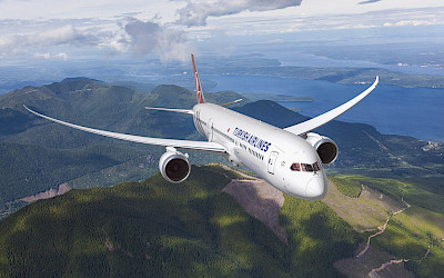 Turkish Airlines - Boeing 787 Dreamliner (foto: Boeing Co.)