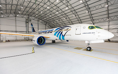 Egyptair - Airbus A220-300 (foto: Airbus/Twitter)