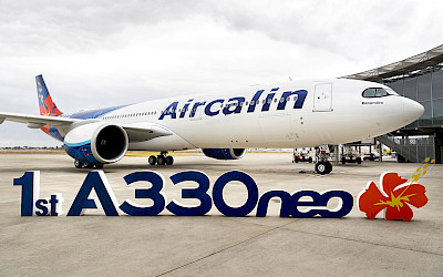 První Airbus A330neo pro Aircalin (foto: Airbus)