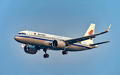 Air China - Airbus A320neo (foto: N509FZ/Wikimedia Commons - CC BY-SA 4.0)