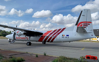 Air Antwerp - Fokker 50 (foto: Air Antwerp)