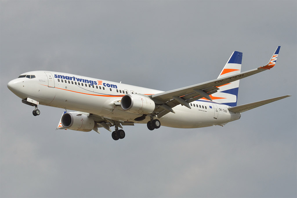 Smartwings - Boeing 737-800 (foto: Laurent Errera/Wikimedia Commons - CC BY-SA 2.0)