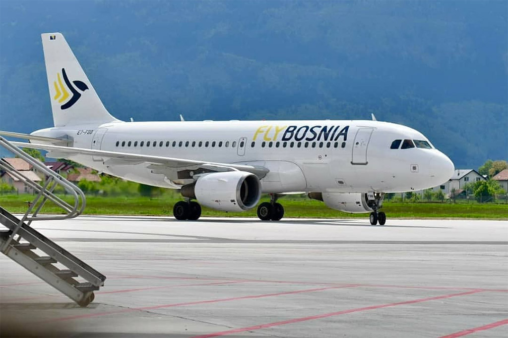 Flybosnia - Airbus A319 (foto: NeXtro/Wikimedia Commons - CC BY-SA 4.0)