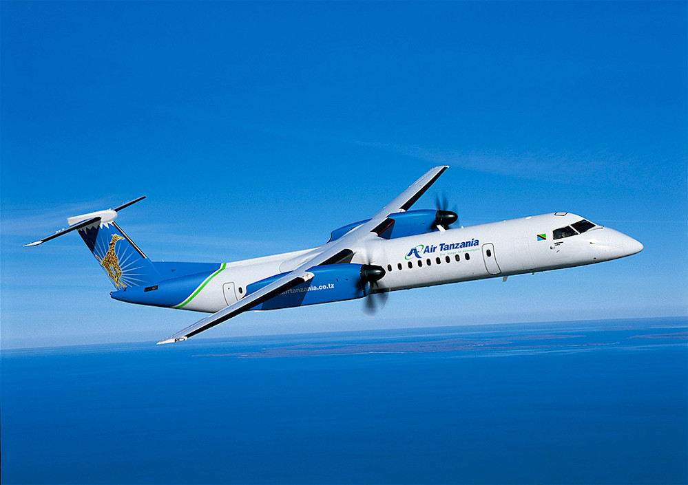 Air Tanzania - Bombardier Q400 (foto: Bombardier Commercial Aircraft)