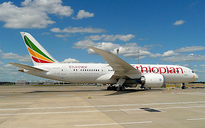Ethiopian Airlines - Boeing 787 Dreamliner (foto: John Taggart/Wikimedia Commons - CC BY-SA 2.0)